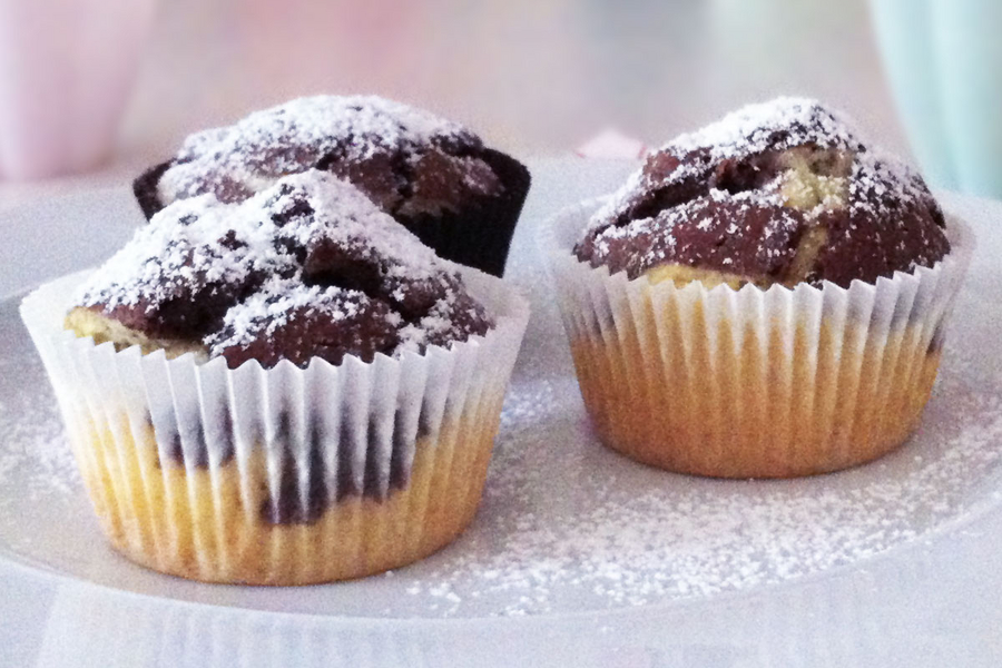 Marmor-Muffins